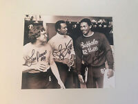 Buffalo Bills Signed Locker Room Photo Jerry Butler Frank Lewis Lou Piccone 8x10