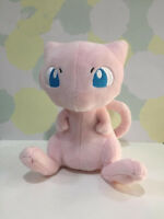 """New Official Sanei Pokemon Mew Plush Soft Toy 6"""" Pink Cat Doll Collectable"""