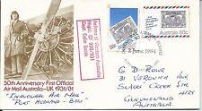 1984 Bali Flight Special Postmark  Pt Hedland 2 Jun Pictor Marks No PM 1139