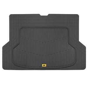 Caterpillar Rubber Cargo Car Floor Mat Black Odorless Heavy Duty Trimmable Liner