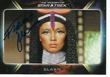 "FRANCE NUYEN SIGNED 2010 ""WOMEN OF STAR TREK"" #22 - ELAAN"