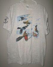 BLACK SWAMP BIRD OBSERVATORY lrg T shirt 2005 Migratory Bird Day tee Ohio