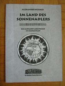 Seltenes Midgard Pocket Abenteuer – Im Land des Sonnenadlers - Nahuatlan