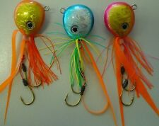3 Snapper Jig fishing lures brand new made in Japan 80g