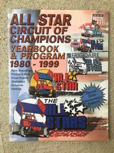 1999 All Star Sprint Car Yearbook Program