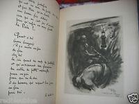 """""""Gueules Noires"""" Jean NOCHER Illustré par COUDON 1/500  relié EO avec ENVOI 1941"""