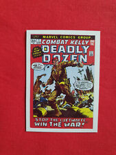 Marvel Vintage Original Trading Cards COMBAT KELLY AND THE DEADLY DOZEN N°23
