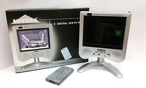 """5"""" Digital Colour LCD TV/Monitor Multi-System High-Power Speaker OL-T50 Miyota"""