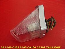 "HONDA 50 C100 C102 C105 CA100 CA102 TAIL LAMP TAIL LIGHT ""CLEAR LENS"" [mi3658]"