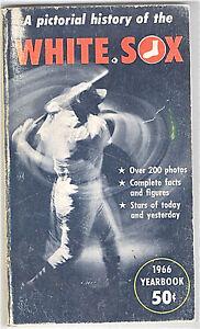 1966--CHICAGO WHITE SIX--ORIGINAL YEARBOOK--NMT