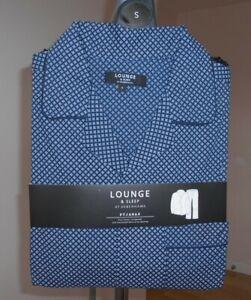 Men`s DEBENHAMS Pyjamas set Size S Small Pure cotton Long sleeves top & bottoms