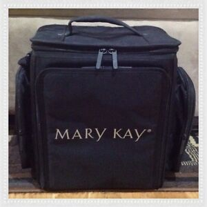 Mary Kay Consultant Black Travel Product Makeup Organizer Case Tote Storage Bag
