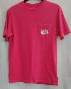 Vineyard Vines Pink Ladies T-shirt Size Small. Has Fish On The Front And Back