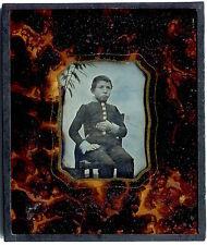 Daguerréotype Enfant en uniforme