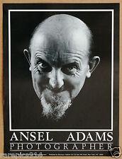 Ansel Adams Photographer Vintage Original Poster
