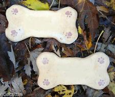 Set of 2 dog bone molds moulds