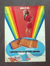 F621 - Advertising Pubblicità - 1970 - PAVESINI PAVESI , PRONTI IN TASCA