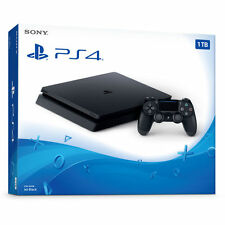 New PS4 Slim 1TB Sony PlayStation 4 System Console Black
