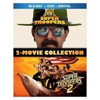 TCFHE BR2356210 SUPER TROOPERS 2 MOVIE COLLECTION (3 DISCS/VOLS 1&2 BR/VOL 2 ...