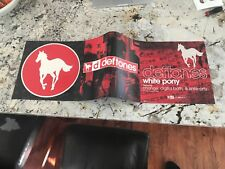 Deftones Pop Out Promo Poster Trifold Tri Fold Double sided Rare Promo 12x36