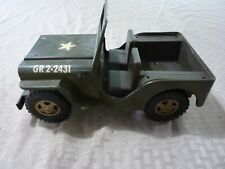 Collectibled pressed steel TONKA US ARMY JEEP