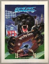 Carolina Panthers inaugural season lithograph signed Jerry Richardson Rare coa