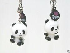 PACK OF 2 CUTE PANDA MOBILE PHONE CHARMS/phone charms/Keychain/bag charm/gift