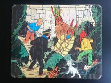 Puzzle Tintin Lombard 1985 le Temple du Soleil  BE+