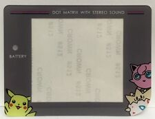 GAMEBOY POKEMON THEME REPLACEMENT SCREEN LENS TO SUIT NINTENDO GAMEBOY - GB
