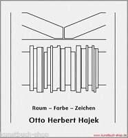 Fachbuch Otto Herbert Hajek, Raum – Farbe – Zeichen, BILLIGER statt 24,80€, OVP