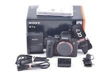 MINT SONY a7R III MIRRORLESS DIGITAL CAMERA BOXED, USA, ONLY 8969 SHUTTER COUNT