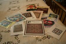 Lot of Quilting Patterns With Handmade Necessary Pouch