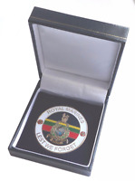 Royal Marines Lest We Forget Remembrance Coin - Boxed