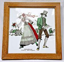 """Hutschenreuther Immagine di porcellana,""""Costume tradizionale Amburgo,Vecchio"""