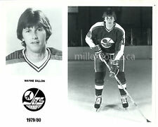 "HTF 1979-80 Wayne Dillon Winnipeg Jets NHL Orig. Player Press Photo 8"" x 10"""