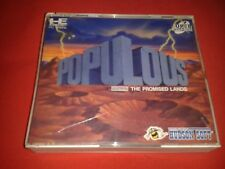 POPULOUS THE PROMISED LANDS NEC CD-ROM PC ENGINE NTSC J JAP
