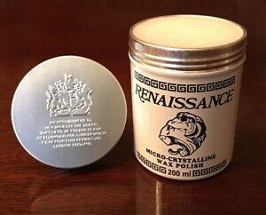 Renaissance Wax Polish 200ml  - Universally accepted as the Standard.