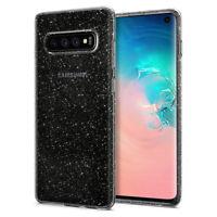 Galaxy S10, S10 Plus, S10e Spigen® [Liquid Crystal Glitter] Sparkly Cover Case