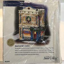 Dept 56 Snow Village® American Hero Comics - Brand New Plastic Sealed