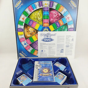 Trivial Pursuit DVD Board Game Parker