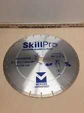 "Lot of 5 14"" x .120 x 1"" 20 mm Concrete Segmented Diamond Blade SkillPro"