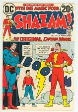 SHAZAM 1 8.5 9.01973 GLOSSY SUPER NICE WHITE PAGES DC