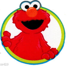 "3"" SESAME STREET ELMO CIRCLES CHARACTER FABRIC APPLIQUE IRON ON"