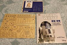 Loot Crate INCREDI BUILDS R2-D2 Wood Model & Inside Look Disney Book Star Wars