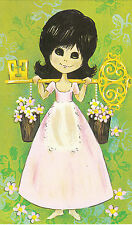 """Vintage 1970's Happy 21st Birthday Greeting Card ~ """"Key to the Door"""" 21 Years"""
