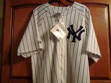 Yogi Berra (1/8) & Don Larsen signed  NY Yankees jerseys w/ coa