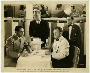 So's Your Uncle 1943 Original Photo - Frank Jenks Donalds Woods Charles Hall