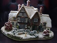 LILLIPUT LANE COUNTRY LIVING IN WINTER C/W BOX & DEEDS