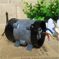 Car 12V 16.5A Electric Turbine Turbo Charger Air Intake Turbo Fan Bold Line AA