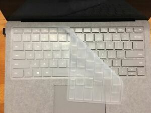 """Silicone Keyboard Cover For Microsoft Surface Laptop 2 1 13.5"""" Waterproof Design"""